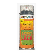 Acryl - Lackspray RAL 7023 matt <br>Spraydose 400 ml