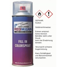 Rebmann Autolackspray  Nissan Black met. 532   Spraydose 400 ml